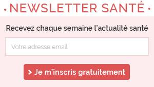 Inscription à la newsletter Santé sur le Net